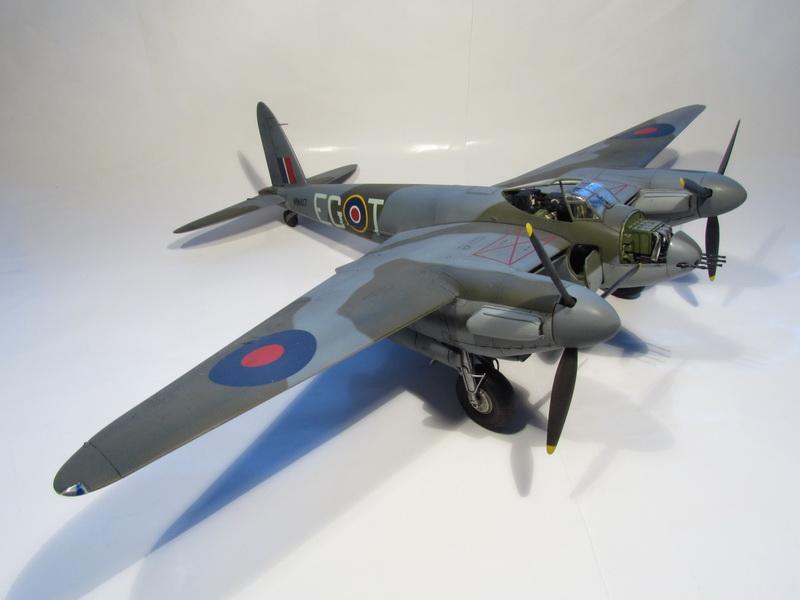 De Havilland Mosquito FB Mk.VI - NF Mk.II 070 - gotovo