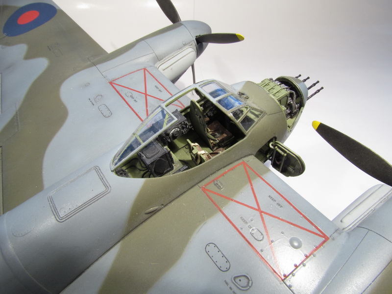 De Havilland Mosquito FB Mk.VI - NF Mk.II 096