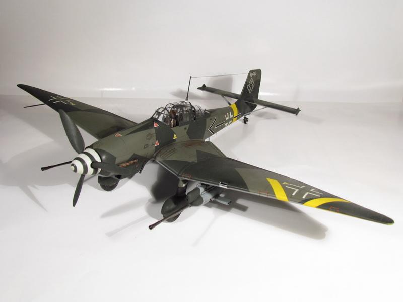 Junkers Ju-87 G-2 Stuka 032 - gotovo