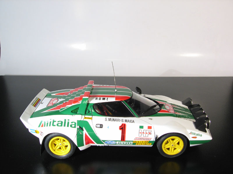 "Lancia Stratos HF 1977 ""Monte-Carlo Rally Winner"""
