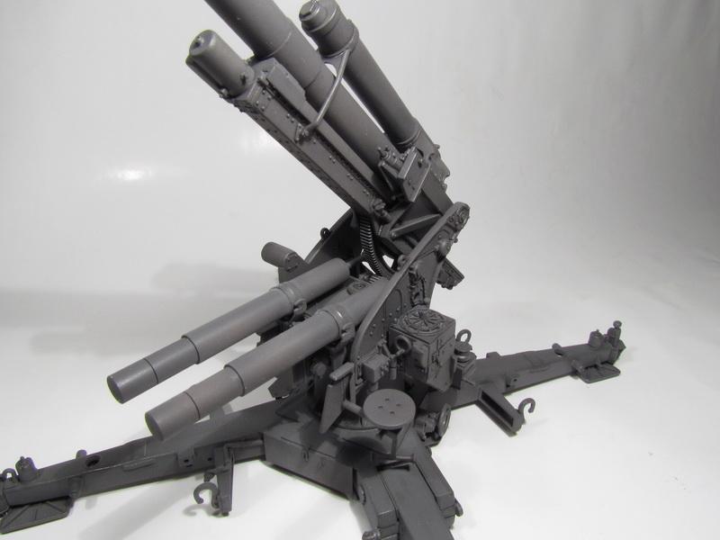 88mm FlaK 36 w FlaK Artillery Crew 071