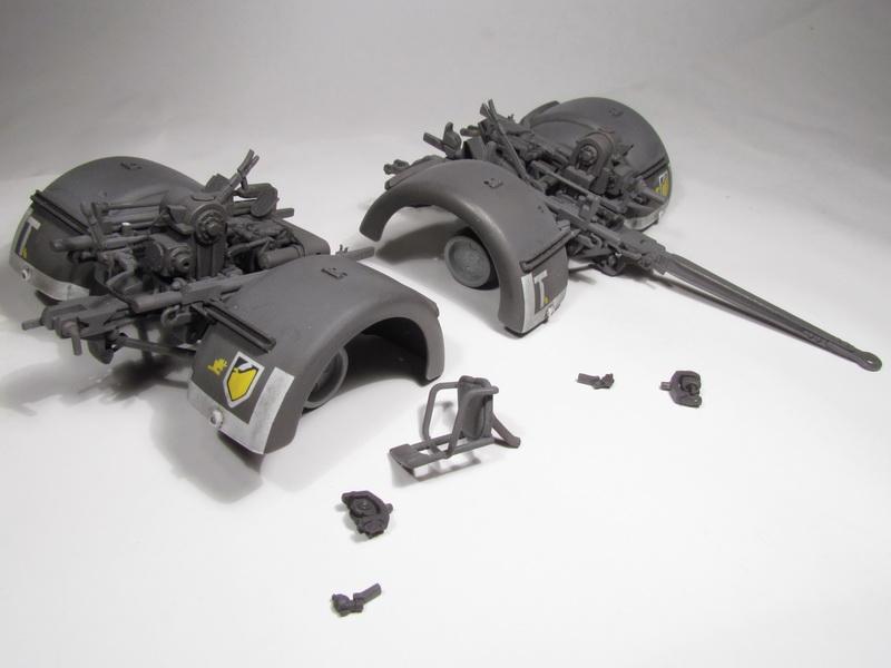 88mm FlaK 36 w FlaK Artillery Crew 075