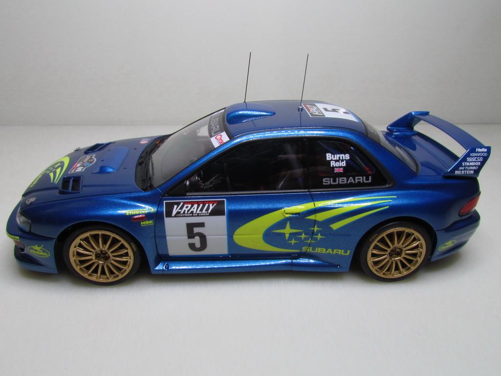 Subaru Impreza WRC '99 103