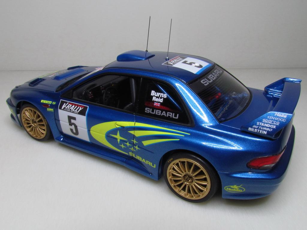 Subaru Impreza WRC '99 104