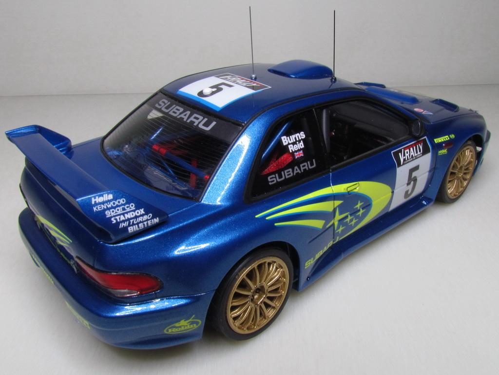 Subaru Impreza WRC '99 106