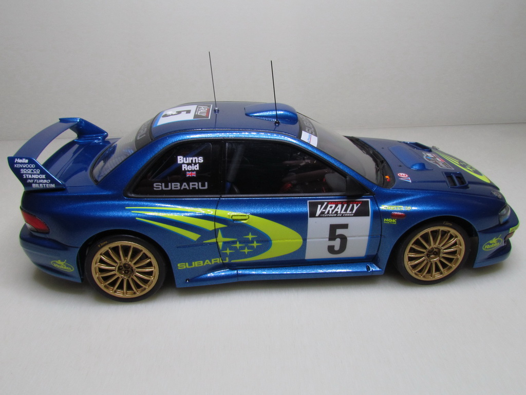 Subaru Impreza WRC '99 107