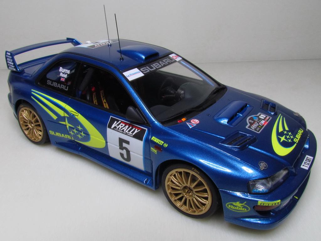 Subaru Impreza WRC '99 108