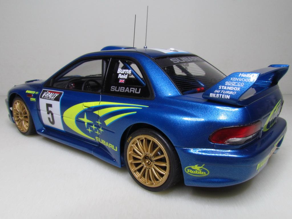 Subaru Impreza WRC '99 115