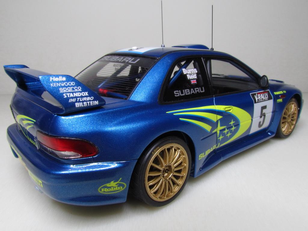 Subaru Impreza WRC '99 119