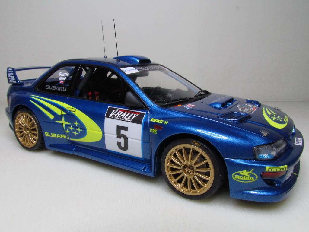 Subaru Impreza WRC '99 121