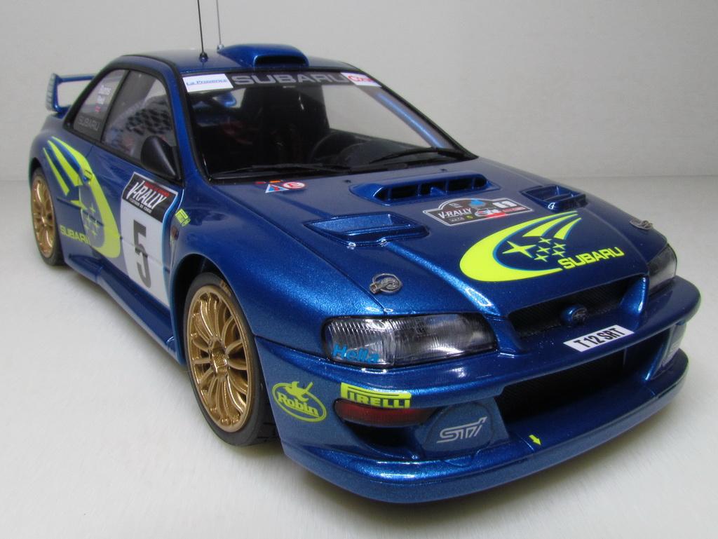 Subaru Impreza WRC '99 122