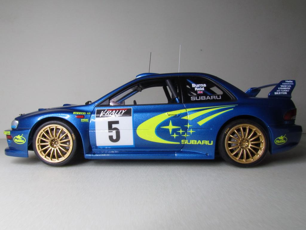 Subaru Impreza WRC '99 126