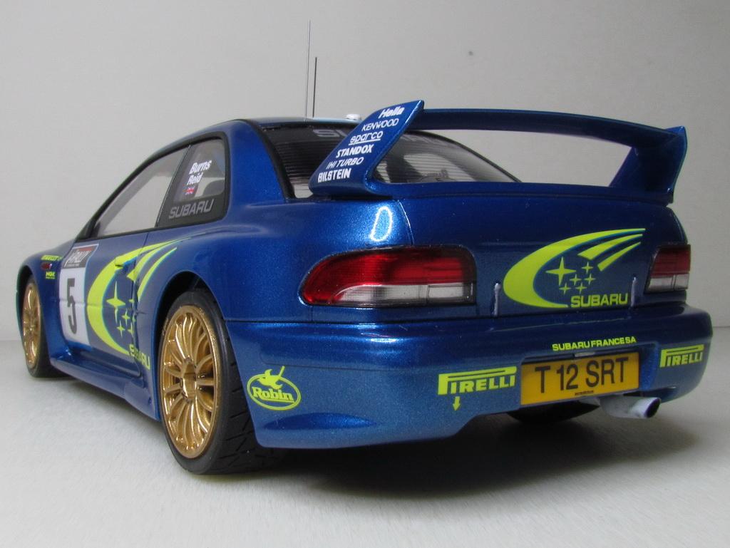 Subaru Impreza WRC '99 127