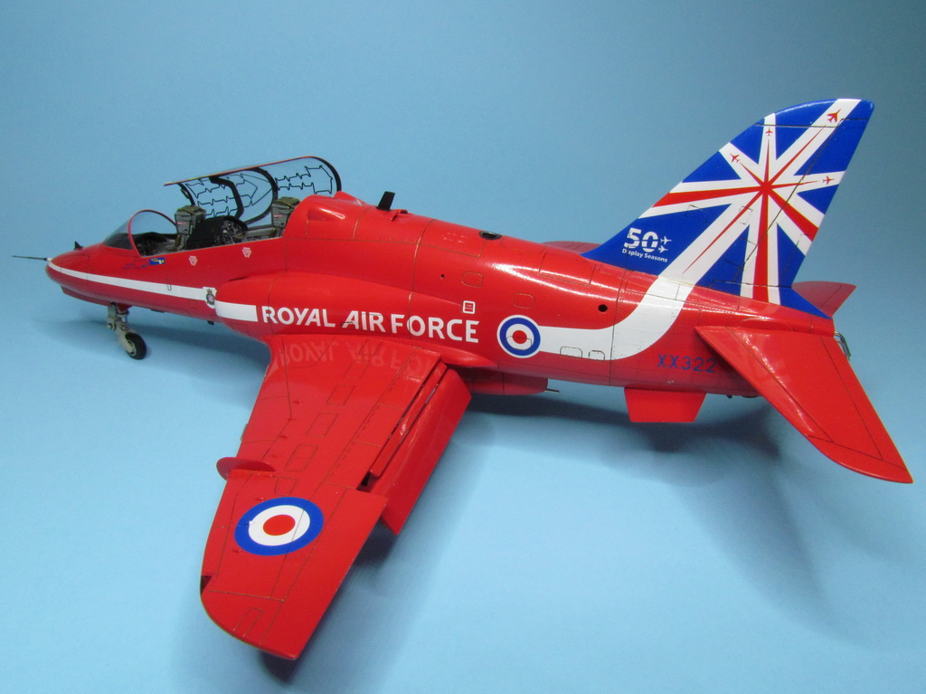 Red Arrows Hawk 088