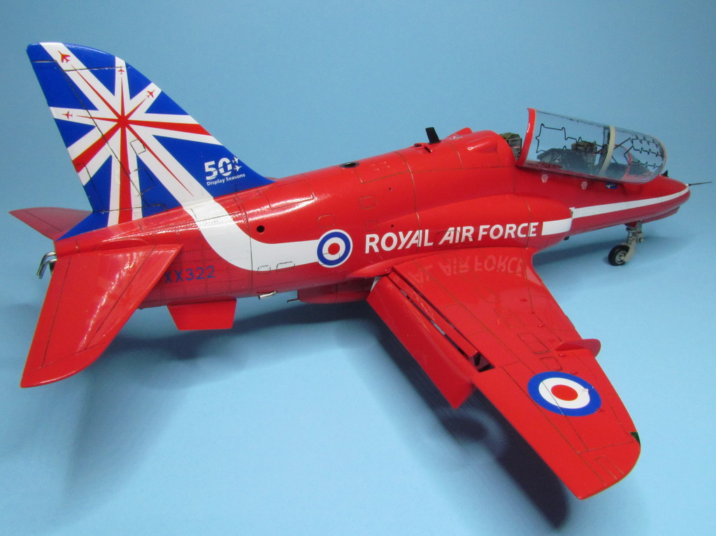 Red Arrows Hawk 091