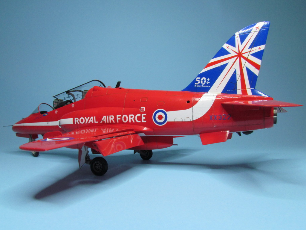 Red Arrows Hawk 096