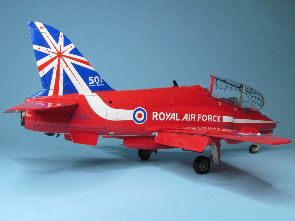 Red Arrows Hawk 097