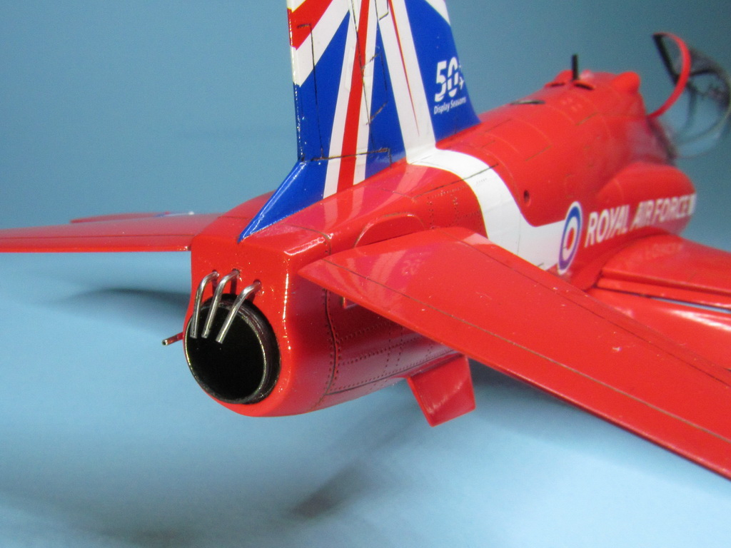 Red Arrows Hawk 104