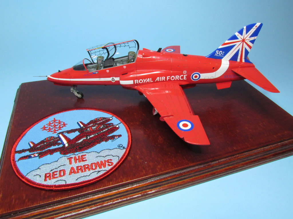 Red Arrows Hawk 107